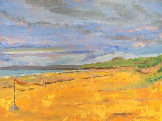 Fanore beach ('Gold beach')