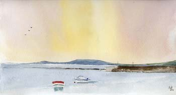 Ballyvaughan harbour