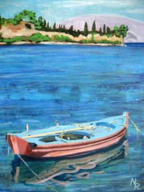 Boat at Kioni