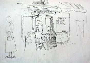 Café at Montmarte