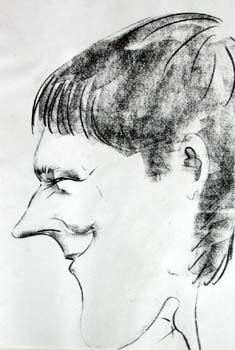 Caricature of me by 'Saul'