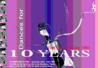 Dance house theatre poster