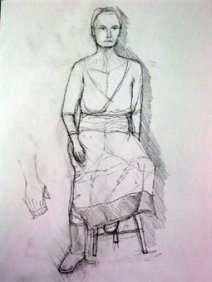 Figure drawing #5