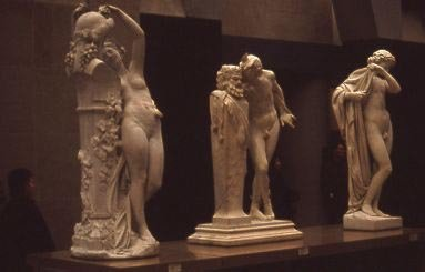 Musée d'Orsay statues