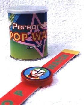 Personalised pop watch