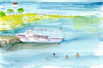 Scala beach boat