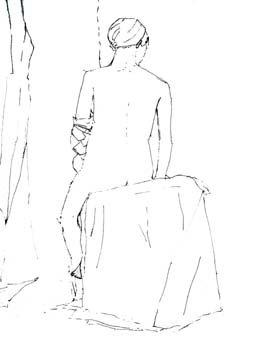 Seated nude #3