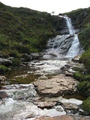 Skye in Focus - waterfall
