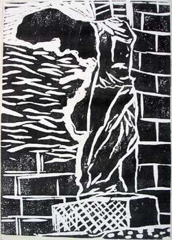 Winged statue of Samothrace (Black)